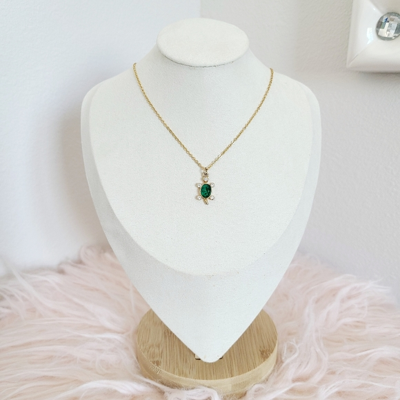 Girls Turtle Necklace